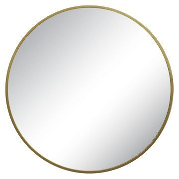 Target Wall Mirror round decorative wall mirror brass - threshold™ | accent walls