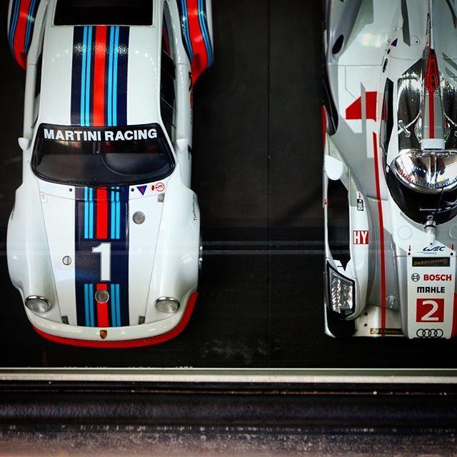 #Porsche #Porsche935 #P935 #Audi #R18 #lemans #lemans24 #lemanslegends #Martini #MartiniRacing #martinistripes #livery #racecar #babygotback