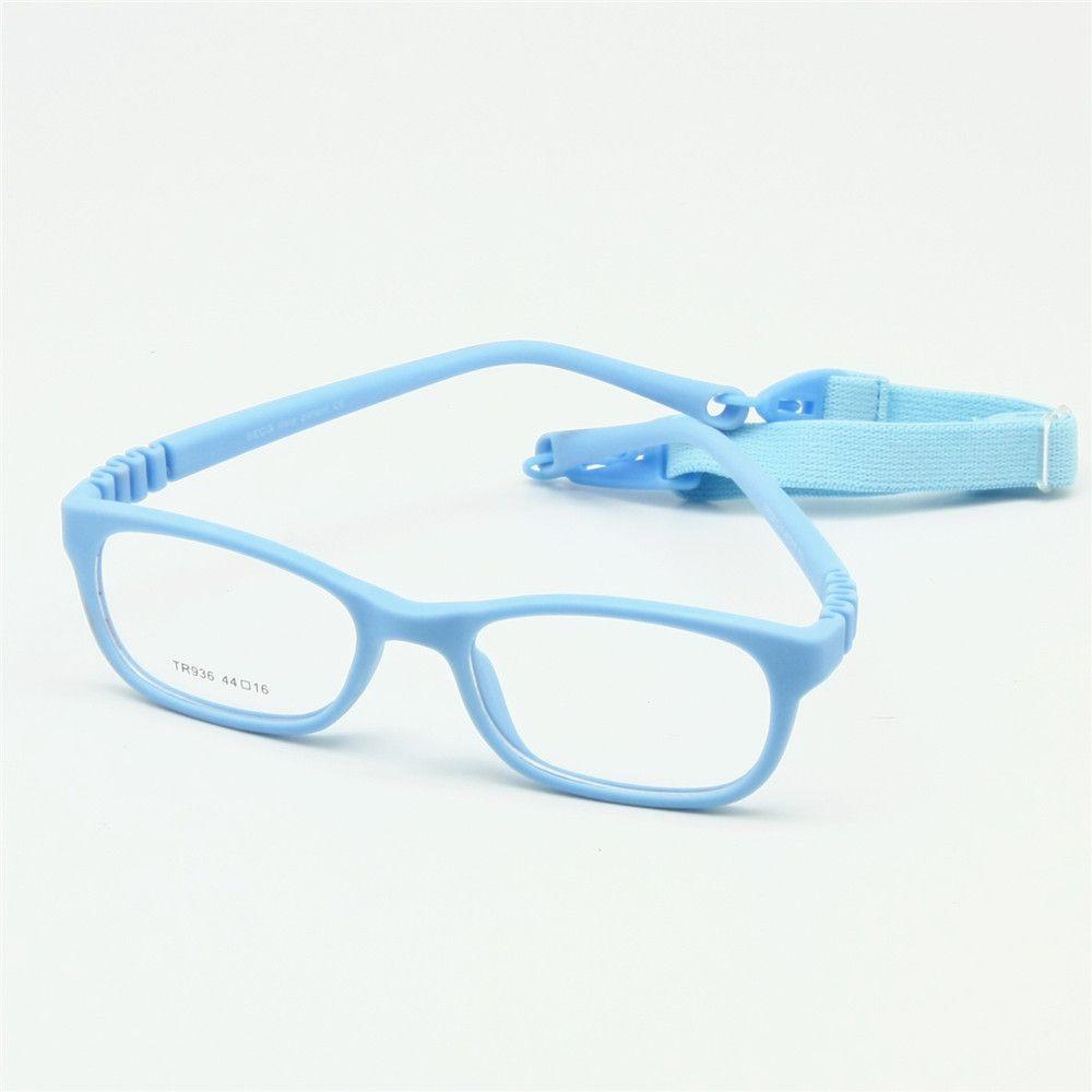 Flexible Kids Eyeglasses Frame Size 44/16 TR90 Children Glasses No ...
