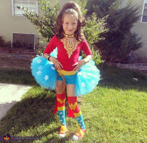 Gabriela My daughter Lauren is wearing a wonder women costume, this was my  3rd
