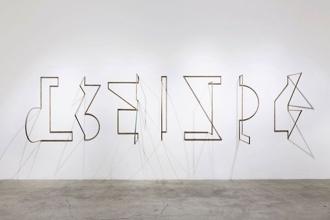 THE NOT YET (SIGNALS 1-7), 2015, INSTALLATION VIEW