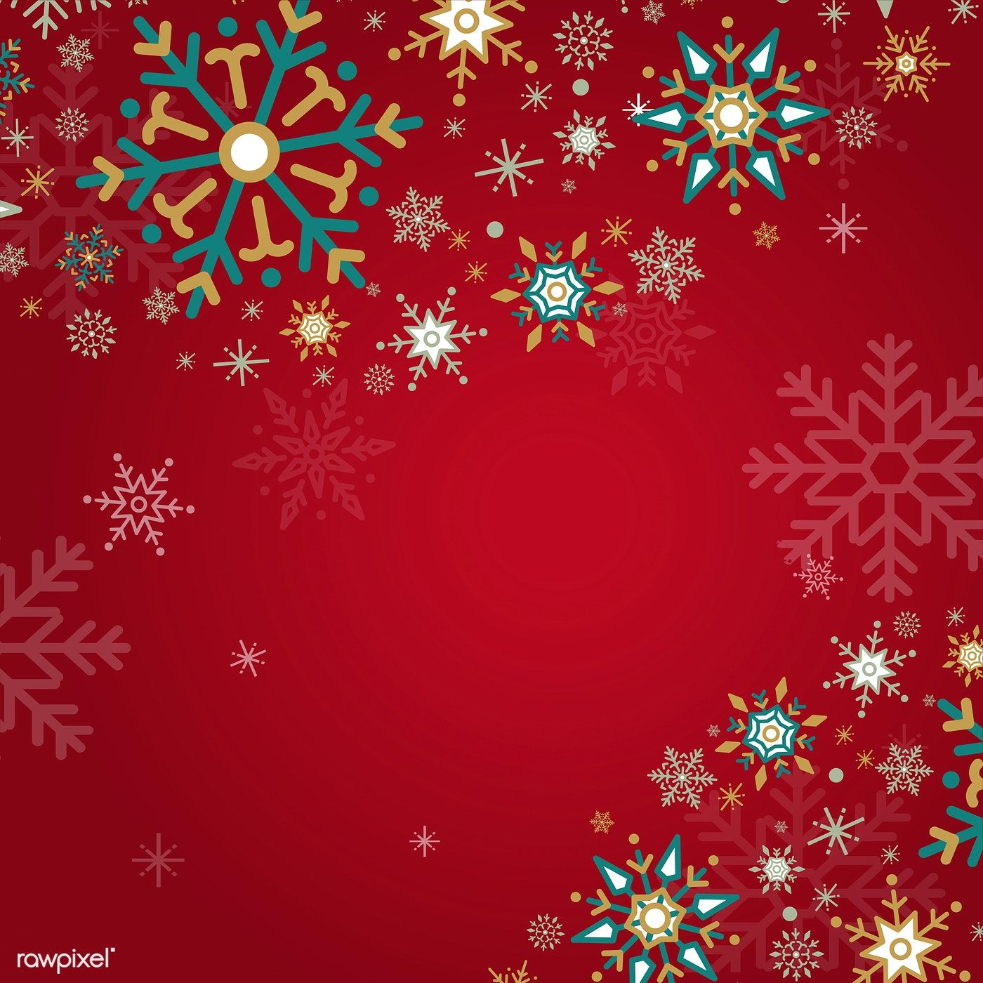Red Christmas Winter Holiday Background With Snowflake Vector Free Image By Rawpixel Com Christmas Paintings Holiday Background Winter Wallpaper