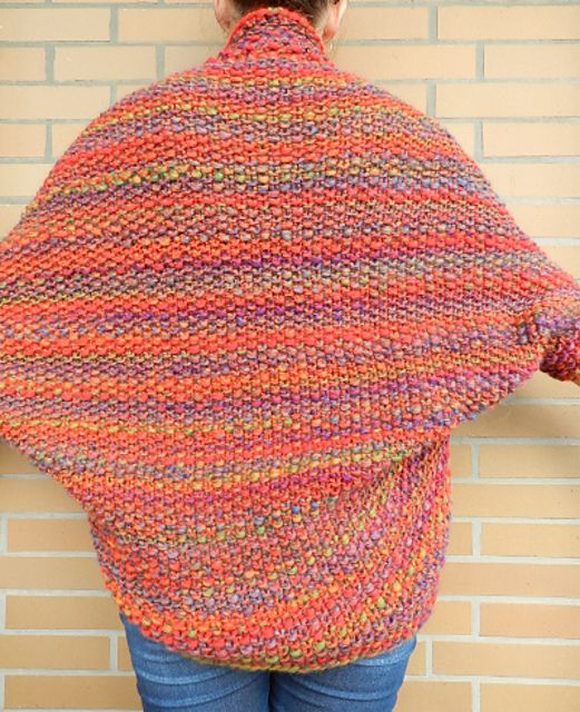 """Ravelry: The """"All colors of the rainbow""""-Shrug pattern by ..."""