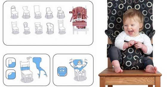 Určite z vaším bábätkom cestujete a nebudete predsa všade zo sebou pratať detskú stoličku...