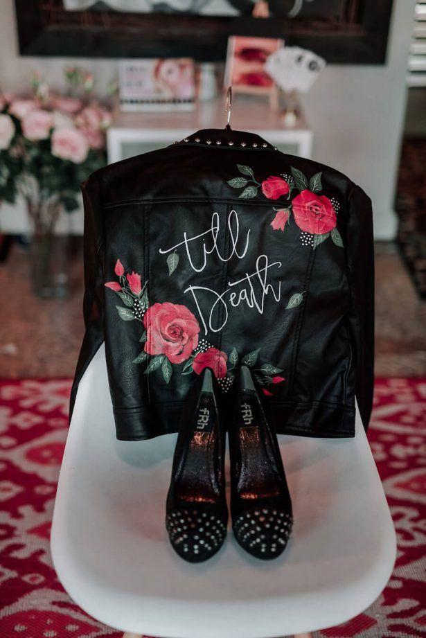 Glamorous and Edgy Wedding Inspiration – Belle The Magazine