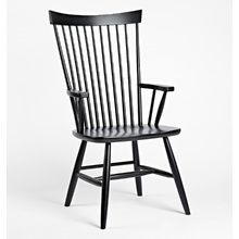 High Back Dining Arm Chair