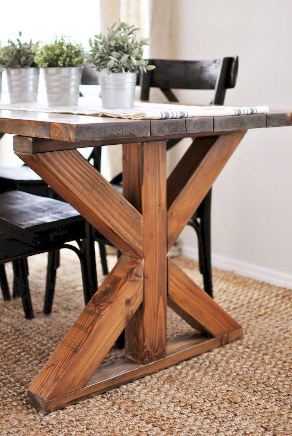60 dining table inspirations for diy farmhouse concept dining table farmhouse table plans on farmhouse kitchen table diy id=45191