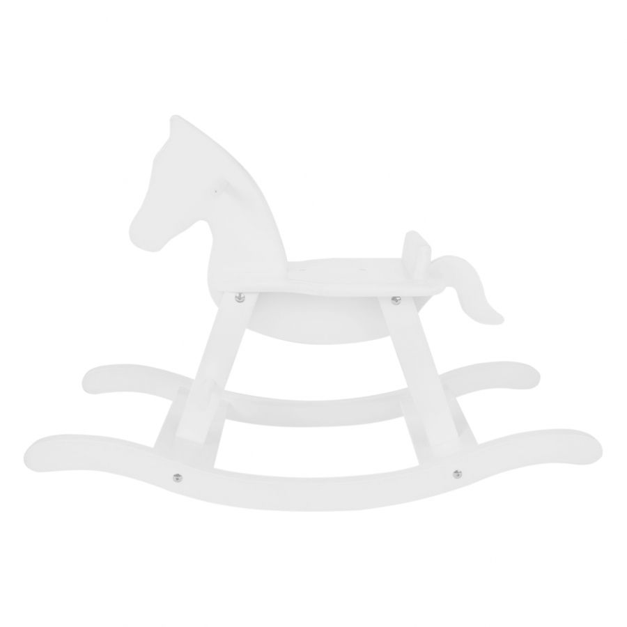 Cheval bascule pinolino h tre massif blanc cheval de bois pinterest - Cheval a bascule en bois blanc ...