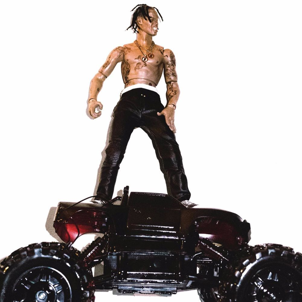 Travis Scott Astroworld poster wall art home decoration photo print 24x24 inches