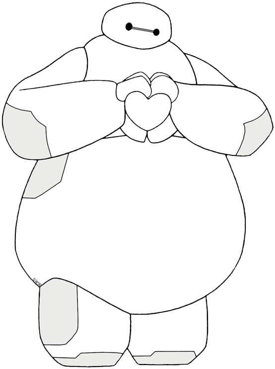 Clip Art Of Baymax From Big Hero 6 Baymax Bighero6 Baymax Drawing Big Hero 6 Big Hero