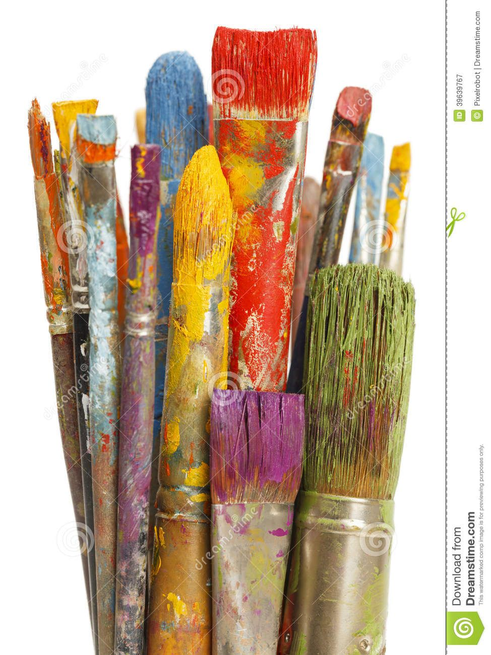 how to clean dried up paint brushes cleaning up paint brush art painting acrylic paint brushes. Black Bedroom Furniture Sets. Home Design Ideas