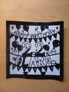 22nd birthday card idea birthday cards pinterest 22 birthday
