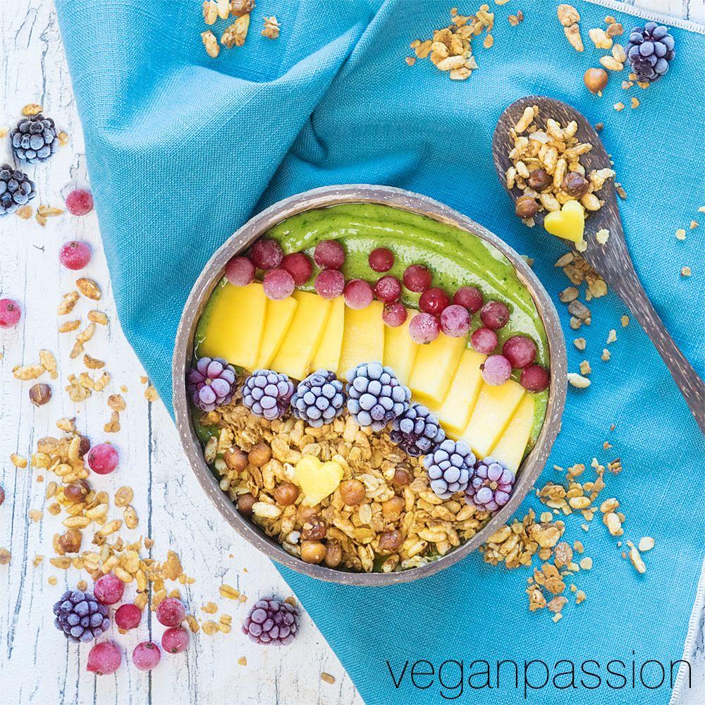 Green Smoothie Bowl - Eiscreme zum Frühstück