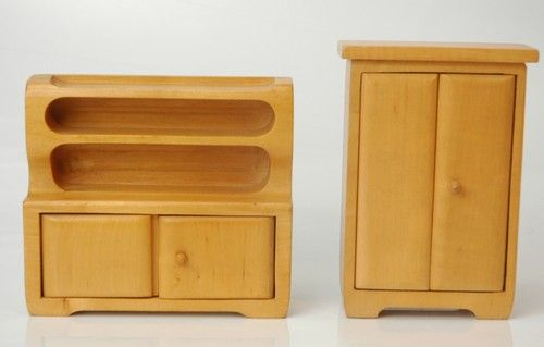 Antonio Vitali  1950s Toy Dollhouse Furniture | eBay listing by m.s.zurich