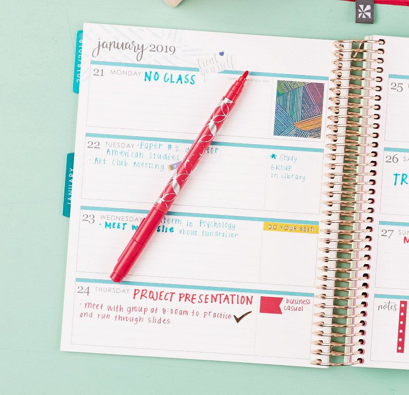 Learn more about how to create your customized LifePlanner