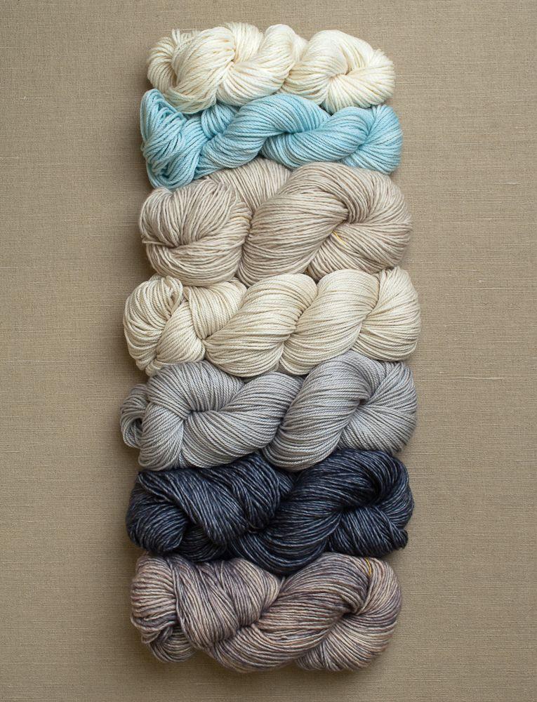 Yarn for Colorblock Bias Blanket