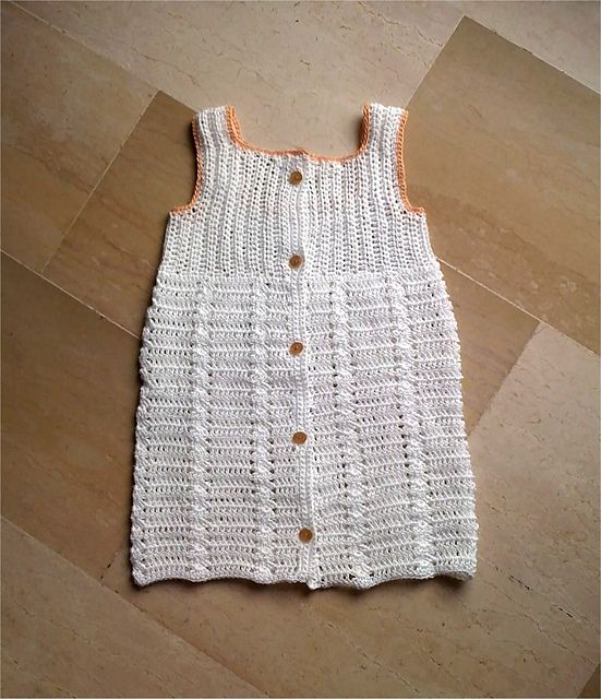 Ravelry: Confetti dress pattern by Lia Govers   Free Crochet Kids ...