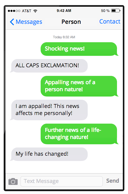Every Fake Text Message Prank Ever Click Link For The Rest It S