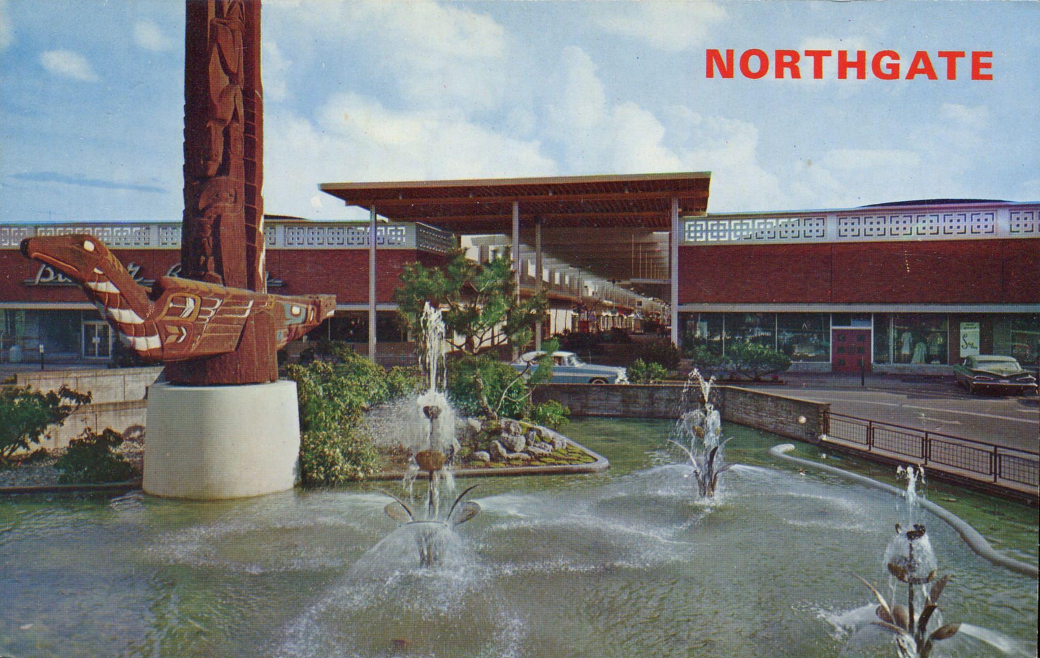 Northgate Shopping Center, Seattle, Washington | Vintage