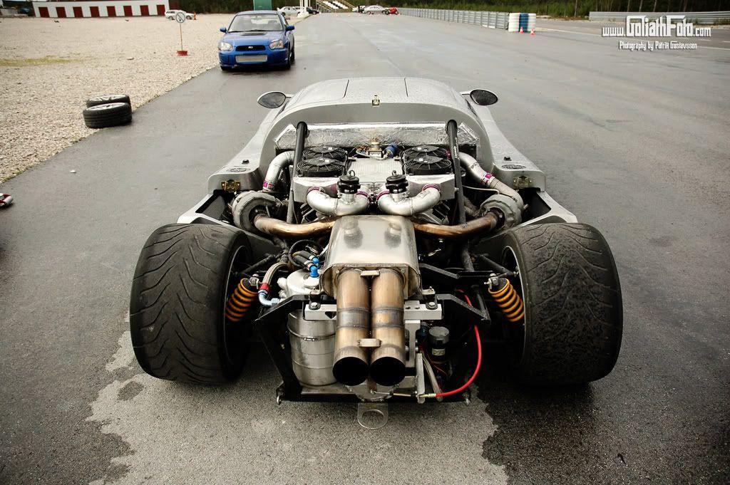 mean race cars | Ultima GTR Lexus Twin Turbo with porsche 6 speed ...