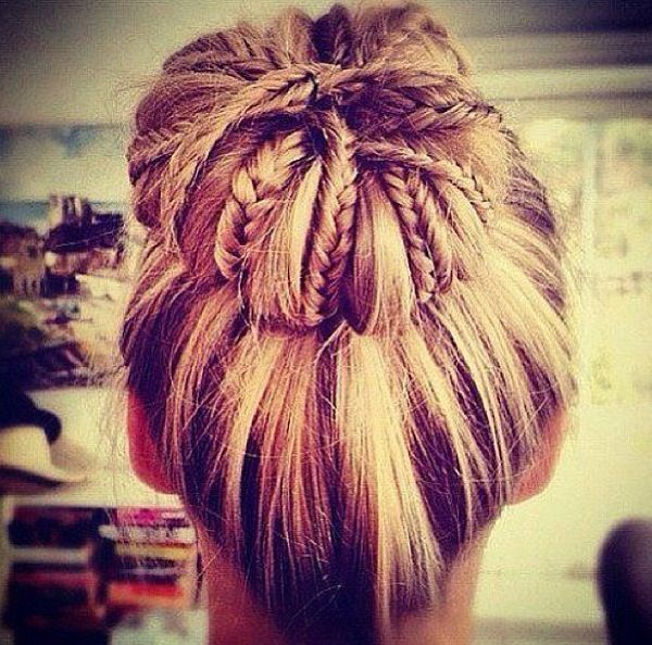 One of my fave hairstyles! The only prob is i cant do it on myself!