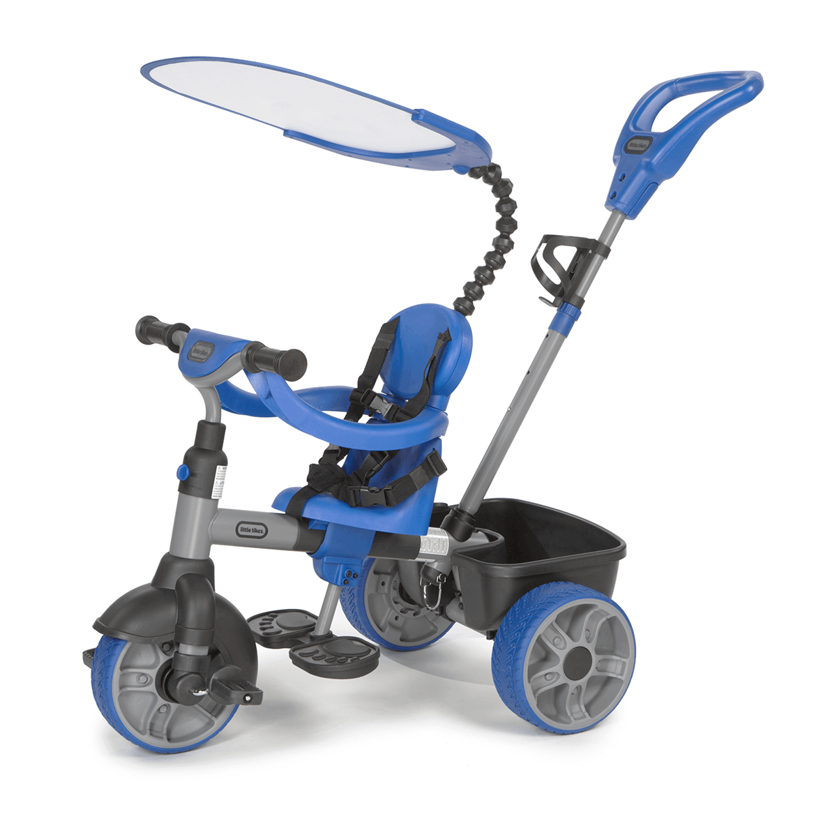 Little Tikes 4in1 Navy Blue Trike Walkers and rideons