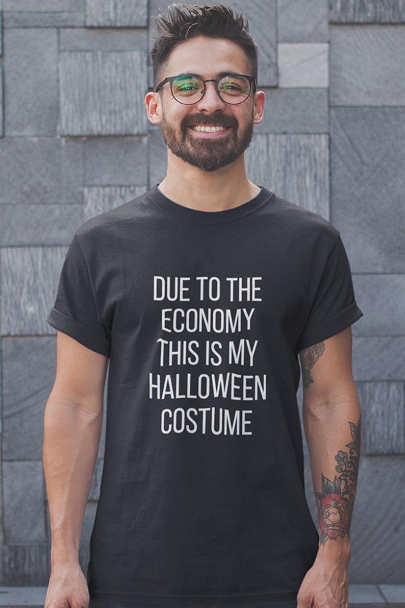 Adult Halloween Costume Men, Funny Tshirts, Halloween Shirt, Fall Shirt Women, Halloween Party, Trick Or Treat Clothing T Shirt T-shirt #easycostumesformen