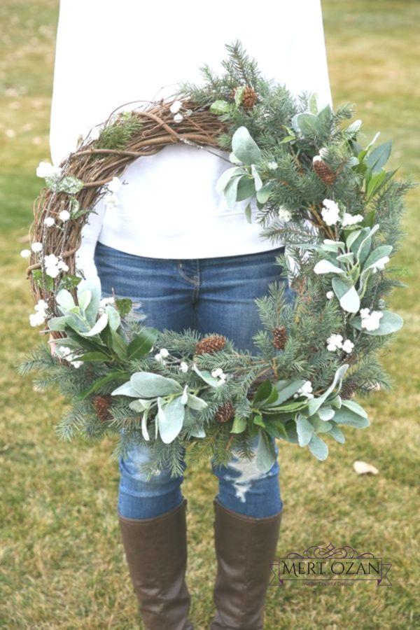 Photo of Hot to Make a Rustic Farmhouse Wreath  – The Idea Room   Christmas –  Home Decor…