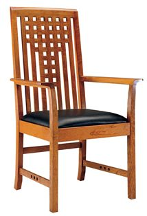 d9e3d17095 Lattice Arm Chair -Stickley | chairs | Chair, Dining room chairs ...