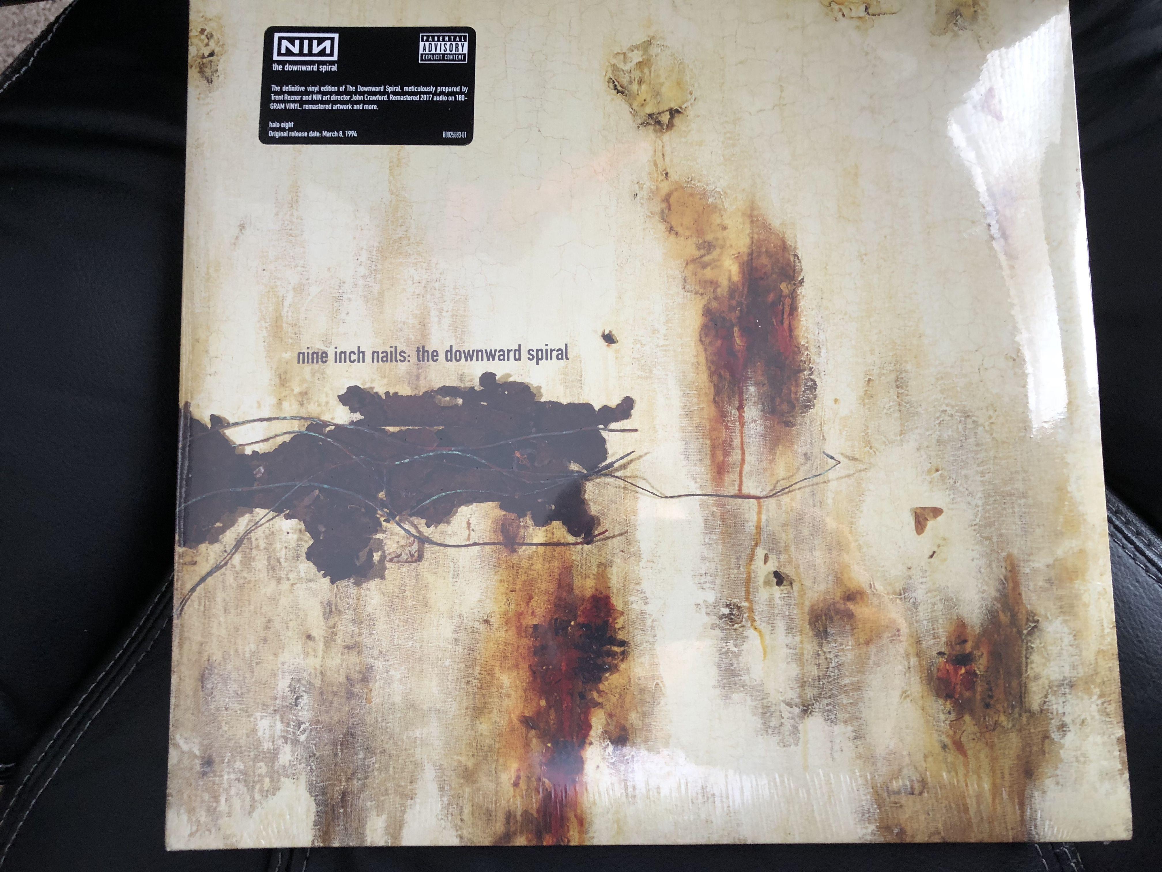 Nine Inch Nails-The Downward Spiral (2017 version) | Vinyl Record ...