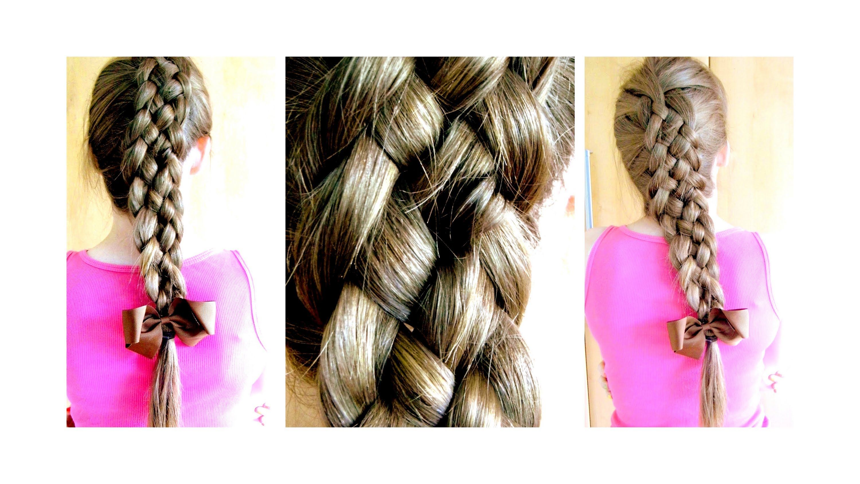 5 strand braid on yourself como hacer una trenza de 5 mechones todays tutorial is how to do 4 braided headbands step by step on yourself perfect for new years eve i tried to do this tutorial a year ago and solutioingenieria Images