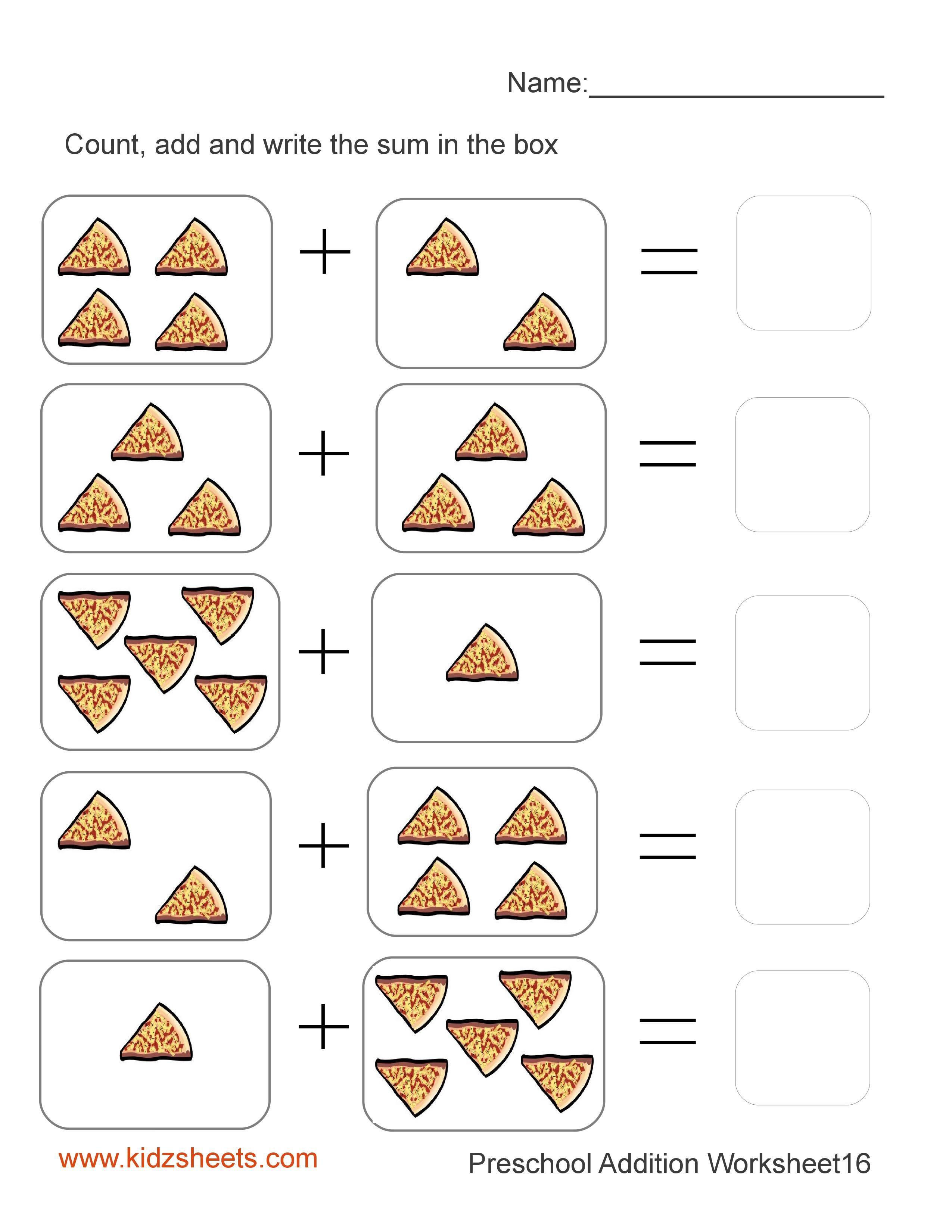 Worksheets Math Kg1 Kg2 Grade1