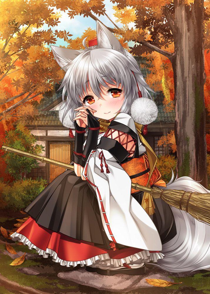 work http www pixiv net member illust php id 30974 かわいいアニメガール アニメの女の子猫 東方 かわいい