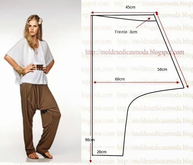 Moldes Moda por Medida   Sewing patterns   Pinterest   Molde ...