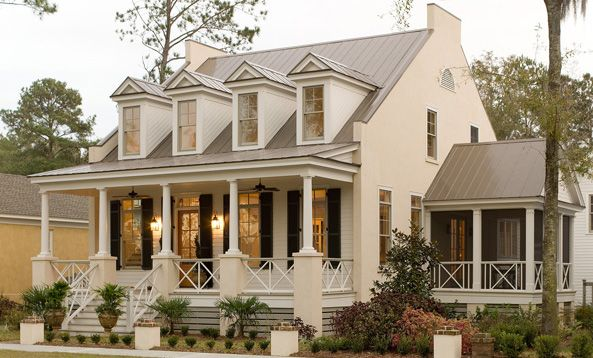 Low Country Style Homes Coastal Homes Southern Living House Plans Pretty House