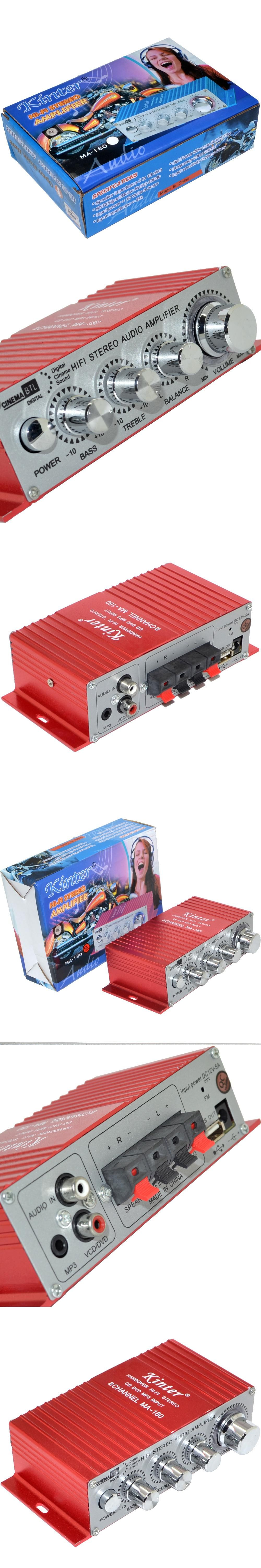 Wholesale 2ch Stereo Mini Car Home Audio Digital Amplifier 2 Channel 10w Btl Amp Hifi Rms