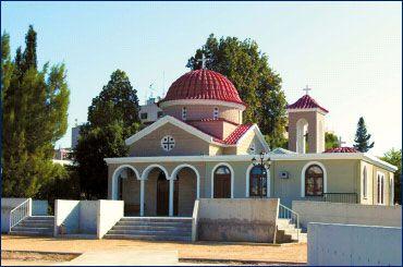 Cyprus - Apostolos Varnavas church, Strovolos  Cyprus ...