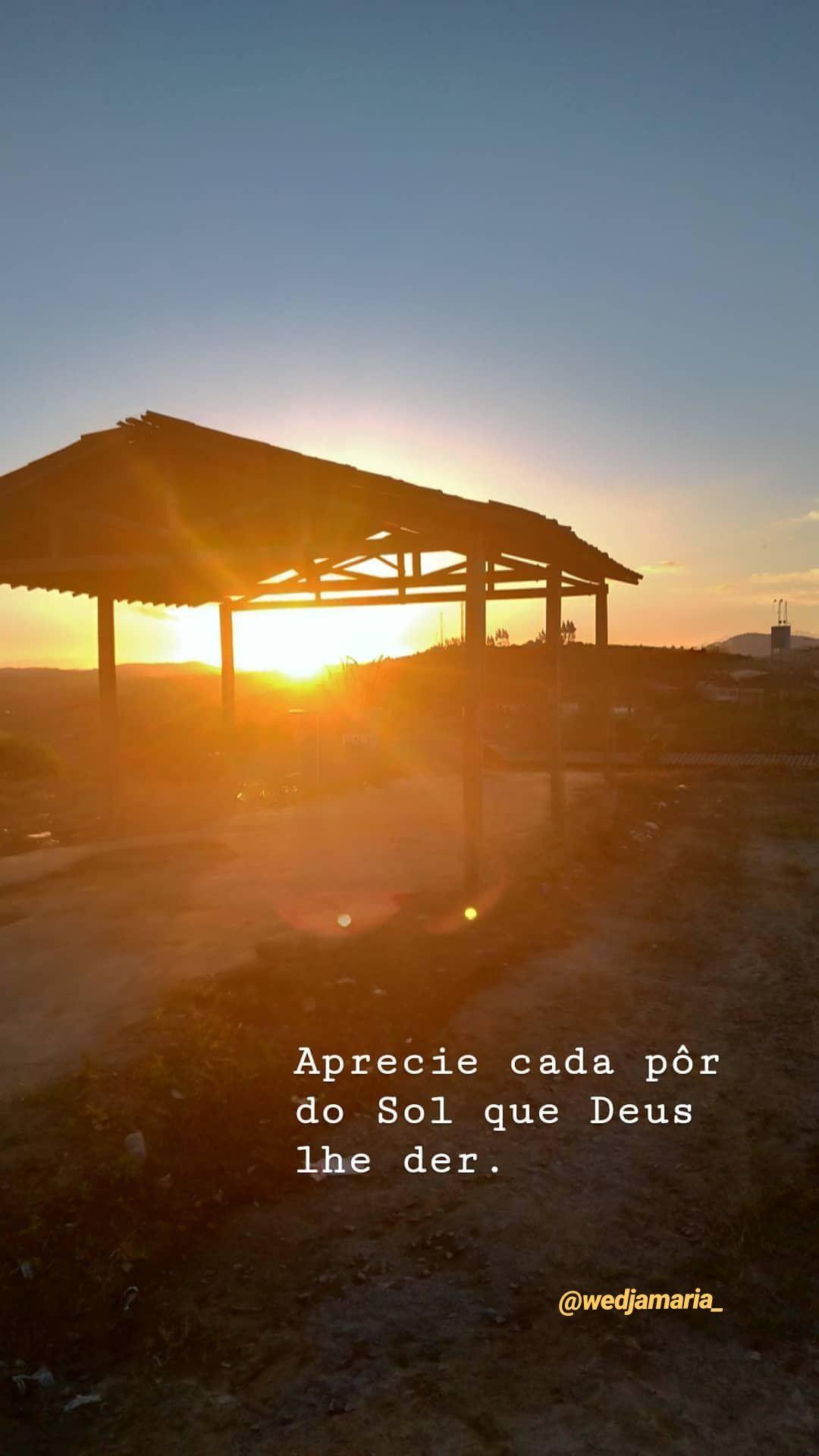 Por Do Sol At Wedjamaria Best Part Frases De Motivação