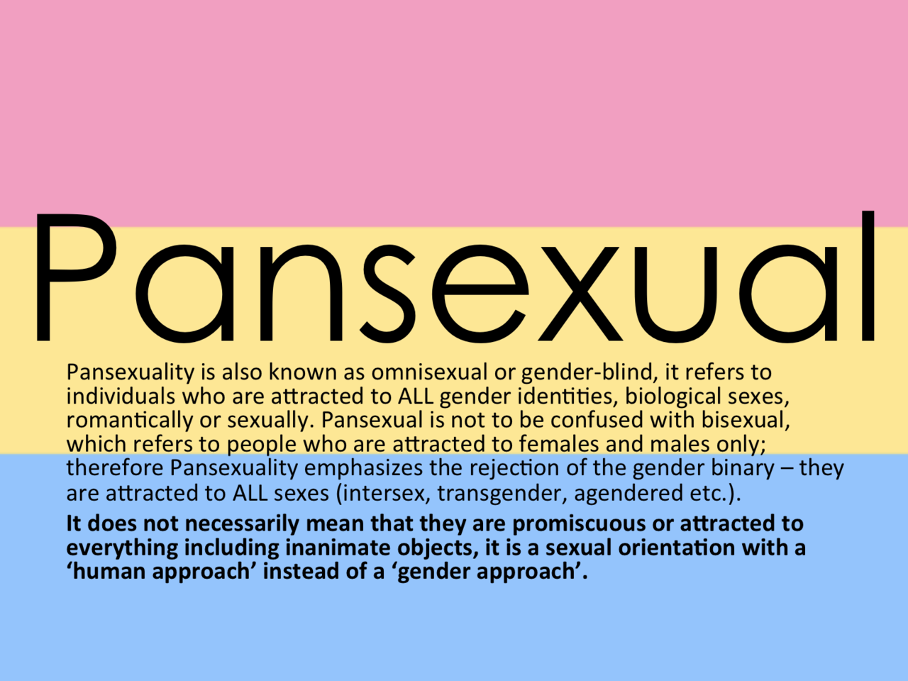 Pan sexual definition