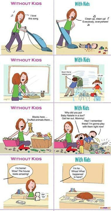 With Kids Vs Without Kids Especially After Christmas And All The