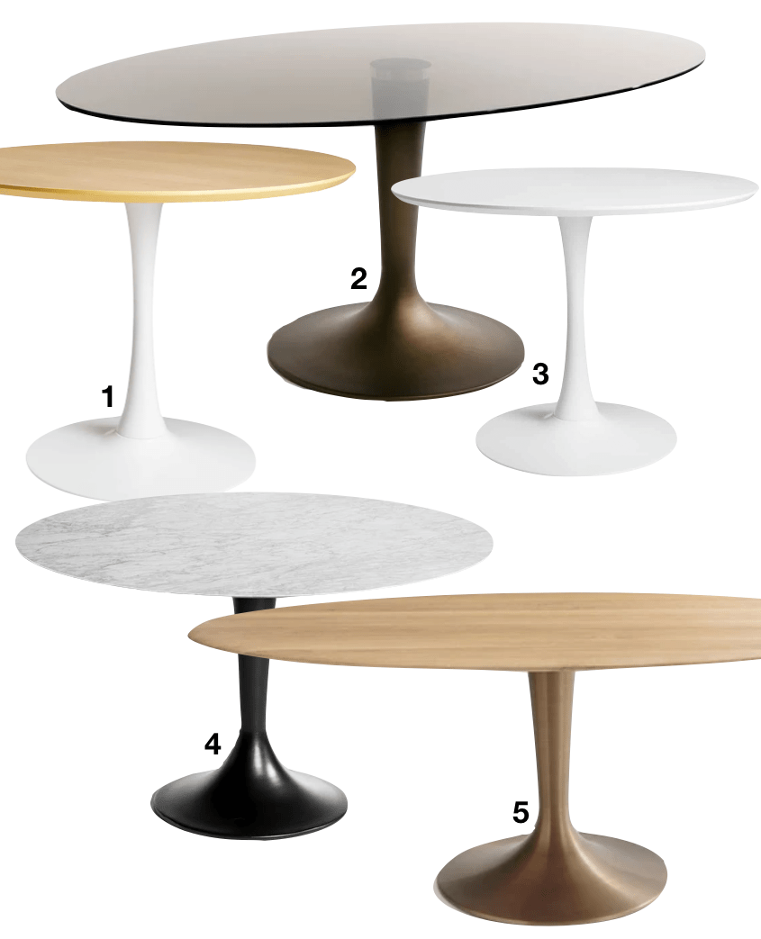 Histoire Design Table Tulipe D Eero Saarinen Blog Deco Clematc Table Tulipe Table Tulipe Knoll Table Salle A Manger