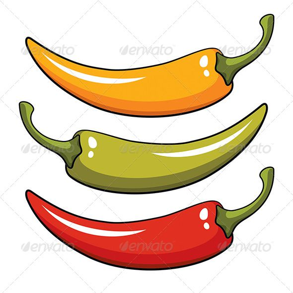 Image result for flying chilli clip art