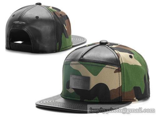 57175a0f610 Leather Camo Cayler   Sons Snapback Caps Hats Cap Adjustable Flat Bill Hats