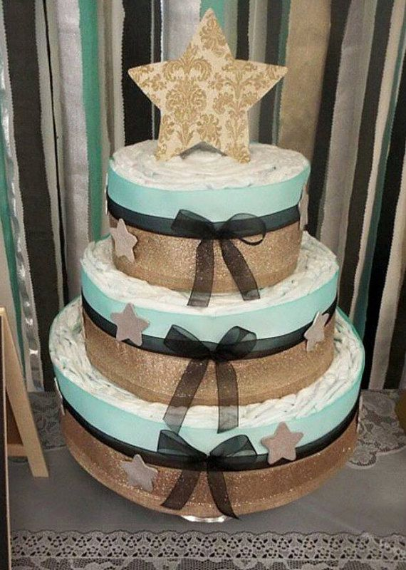 Twinkle Little Star Diaper Cake