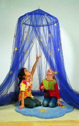 #Cortina #infantil con #estrellas. #Crea un rincón #mágico y acogedor - Tienda Educamueble