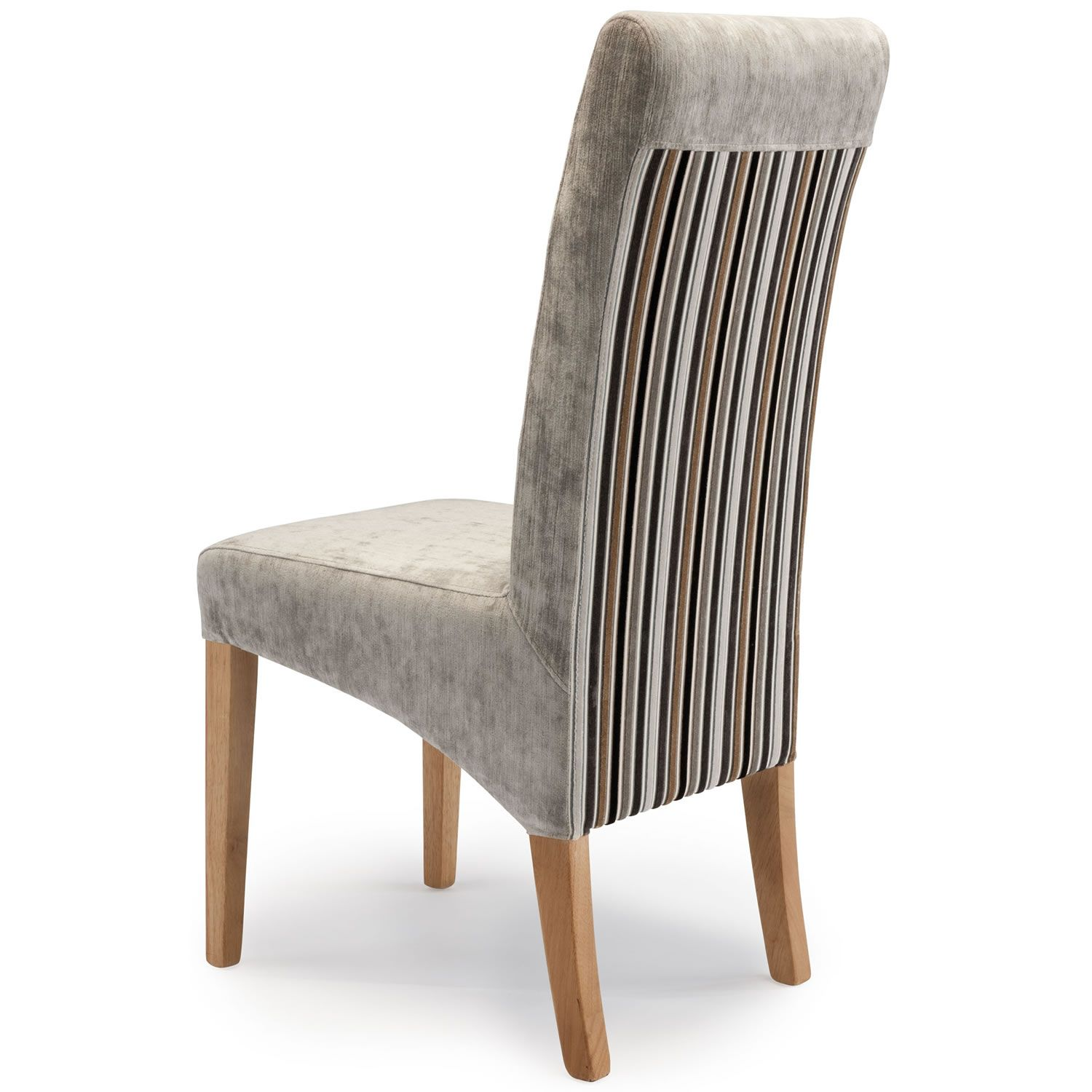 Parsons Chair Contrasting Back Detail Dining Room Chairs