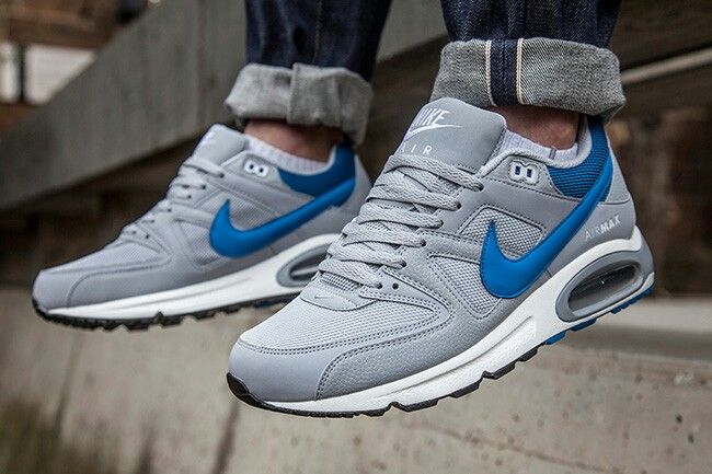 Medieval farmacéutico Decorar  Nike air max command grey blue | Zapatos nike, Nike, Zapatos