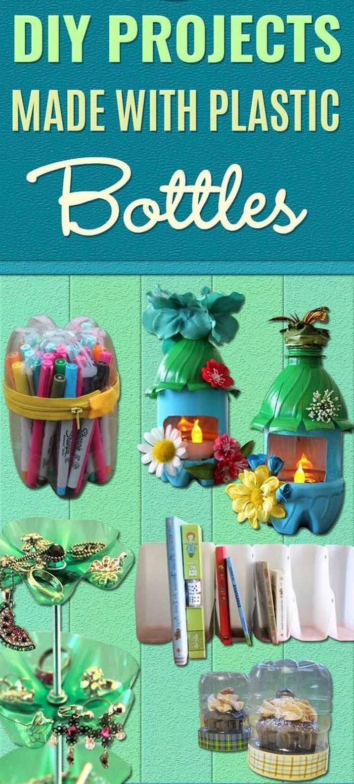 10 Fun And Creative Crafts With Recycled Plastic Soda Bottles
