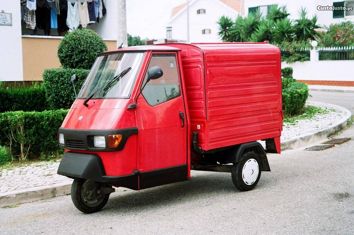 piaggio ape 50 furgao venda motos scooters lisboa tuk tuk pinterest. Black Bedroom Furniture Sets. Home Design Ideas