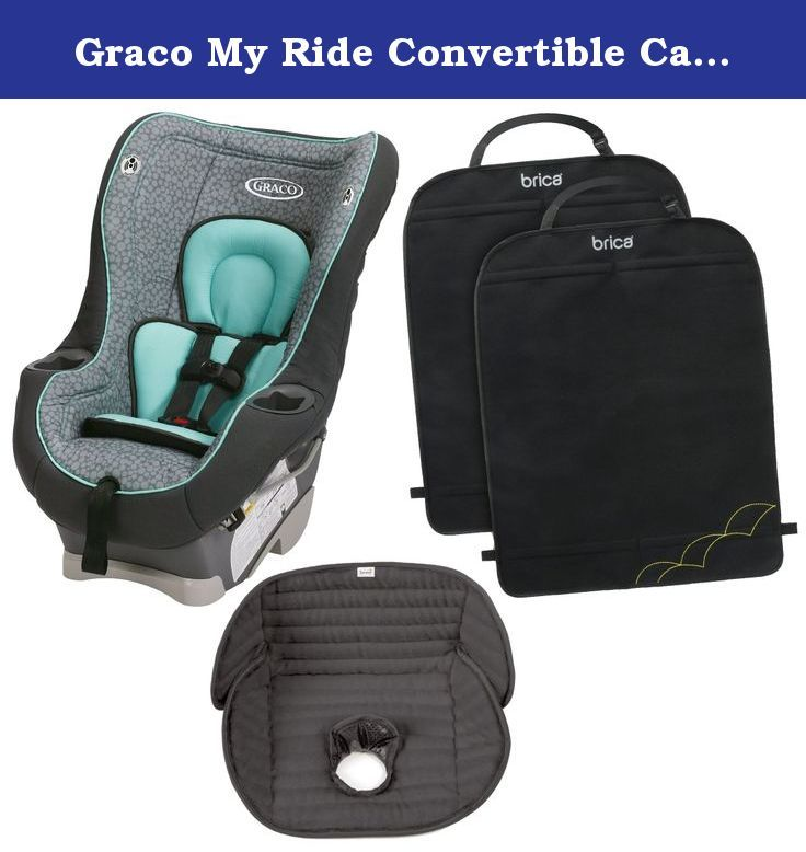 Graco My Ride Convertible Car Seat With Mat Deluxe Kick Mats Sully